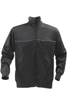 Afbeelding van Track Sweater Jacket Zwart