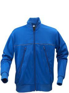 Afbeelding van Track Sweater Jacket Blauw