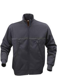 Afbeelding van Track Sweater Jacket Donkergrijs