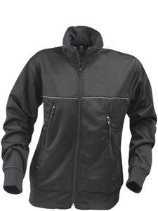 Afbeelding van Field Sweater Jacket Zwart
