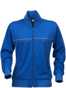 Afbeelding van Field Sweater Jacket Blauw