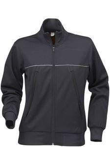 Afbeelding van Field Sweater Jacket Donkergrijs