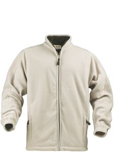 Afbeelding van Cross Fleece Jas Beige Printer Harvest