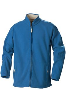 Afbeelding van Cross Fleece Jas Blauw Printer Harvest