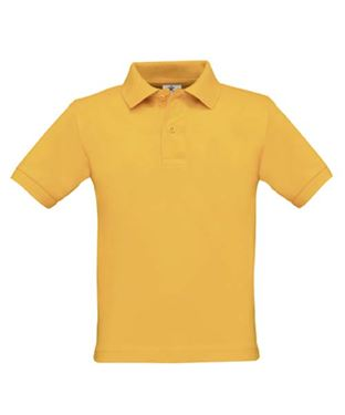 Picture of Poloshirt Kids Safran Gold