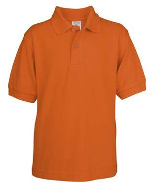 Picture of Poloshirt Kids Safran Pumpkin Orange