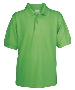Picture of Poloshirt Kids Safran Real Green