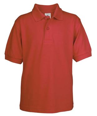 Picture of Poloshirt Kids Safran Red