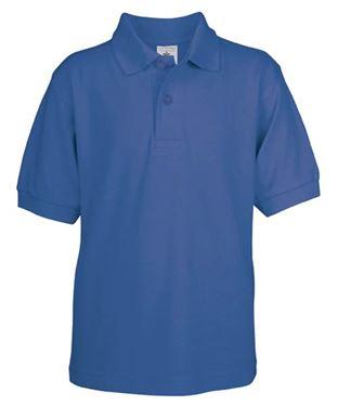 Picture of Poloshirt Kids Safran Royal Blue