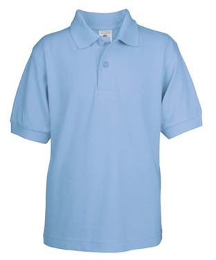 Picture of Poloshirt Kids Safran Sky Blue