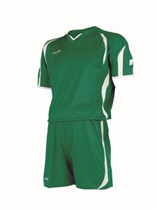Afbeelding van voetbaltenue groen-wit