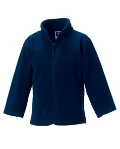 Afbeelding van Full Zip Outdoor Fleece French Navy