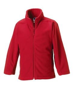 Afbeelding van Full Zip Outdoor Fleece Classic Red