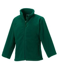 Afbeelding van Full Zip Outdoor Fleece Bottle Green