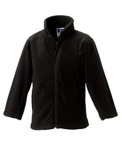 Afbeelding van Full Zip Outdoor Fleece Black