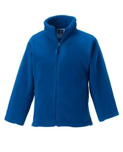 Afbeelding van Full Zip Outdoor Fleece Bright Royal