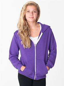 Afbeelding van Youth Flex Fleece Zip American Apparel