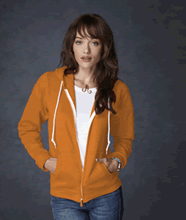 Picture of Anvil ladies full zip hooded sweat  Texas Orange