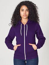 Picture of Unisex Flex Fleece Zip Hoodie van American Apparel Majesty