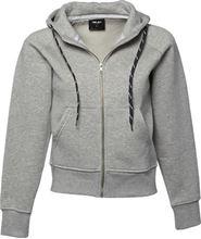 Picture of Tee Jays Ladies Hooded Zip-Sweat Heather Grey
