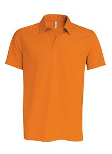 Afbeelding van Proact Sneldrogende Cool Plus Heren Sportpolo Orange