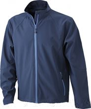 Picture of Heren Softshell Jack J&N Navy
