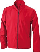 Picture of Heren Softshell Jack J&N Rood