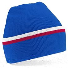 Picture of Teamwear Beanie Blauw / Wit / Rood