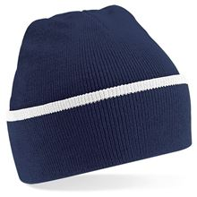 Picture of Teamwear Beanie French Navy / Wit