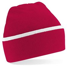 Picture of Teamwear Beanie Rood / Wit