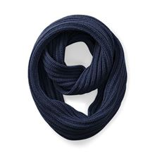 Picture of Deluxe Infinity Scarf French Navy
