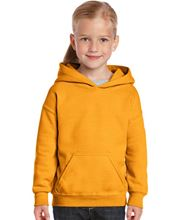 Picture of Heavy Blend™ Youth Hooded Sweatshirt Gold