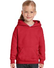 Picture of Heavy Blend™ Youth Hooded Sweatshirt Red