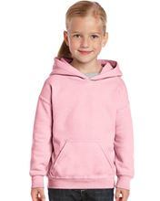 Picture of Heavy Blend™ Youth Hooded Sweatshirt Light Pink