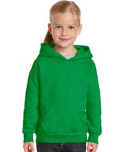 Picture of Heavy Blend™ Youth Hooded Sweatshirt Irish Green