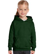 Picture of Heavy Blend™ Youth Hooded Sweatshirt Forrest Green