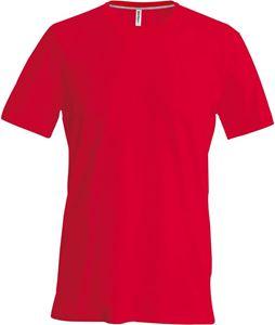 Afbeelding van Kariban Heren T-Shirt met ronde hals en korte mouwen  Red