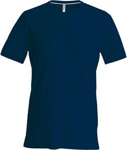 Afbeelding van Kariban Heren T-Shirt met ronde hals en korte mouwen  Navy