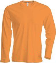 Picture of Heren T-shirt lange mouw met ronde hals Orange