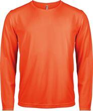 Picture of Heren Sport T-shirt lange mouw Fluorescent Orange