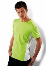 Picture of Tiger - tweekleurig T-Shirt Kariban Lime - White