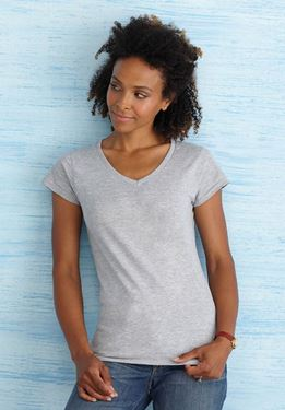 Softstyle Ladies V-Neck T-shirt Gildan