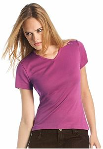 Afbeelding van Watch Woman T-shirt korte mouw V-Neck