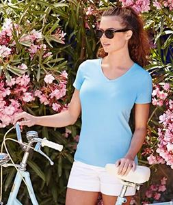 Afbeelding van Lady-Fit V-Neck T Fruit of the Loom