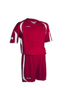 Afbeelding van voetbaltenue rood-wit
