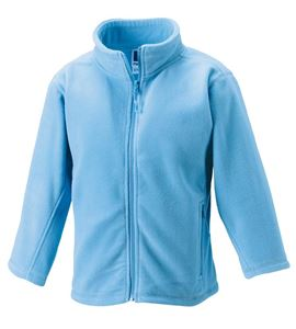 Afbeelding van Full Zip Outdoor Fleece Sky