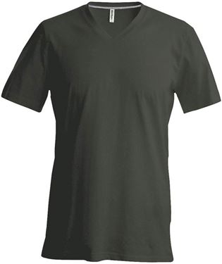 Picture of Heren T-Shirt V Hals Khaki