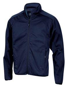Afbeelding van Soft Shell Jacket unisex Navy Baxter