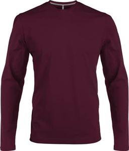 Afbeelding van Heren T-shirt lange mouw met ronde hals Whine