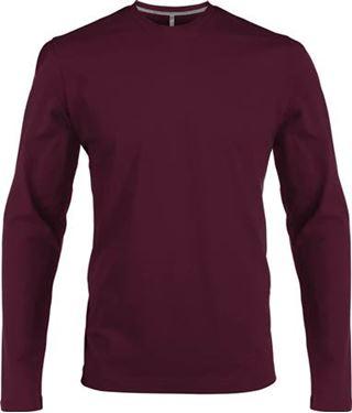 Picture of Heren T-shirt lange mouw met ronde hals Whine